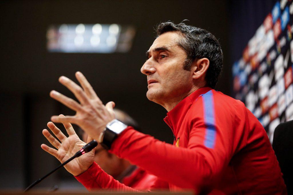 Valverde enmarca la polémica postderbi en «la rivalidad existente»