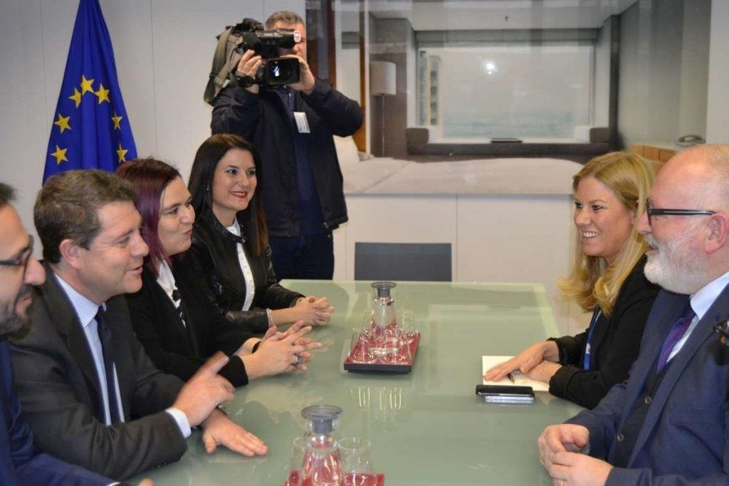 Extremadura y Castilla-La Mancha exigen en Bruselas apoyo para la alta velocidad Madrid-Badajoz
