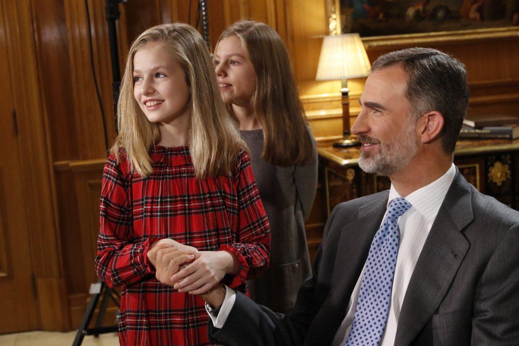 Felipe VI celebra mañana su 50 cumpleaños imponiendo el Toisón de Oro a la Princesa de Asturias