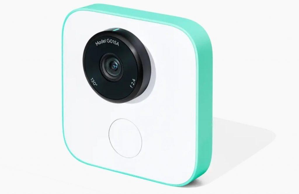 Google lanza su cámara inteligente Google Clips, que graba vídeos cortos empleando Inteligencia Artificial