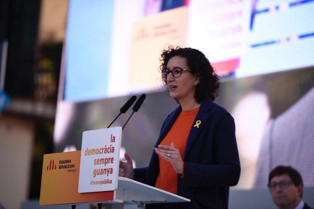 Marta Rovira presidirá ERC en el Parlament y Sergi Sabrià será el portavoz