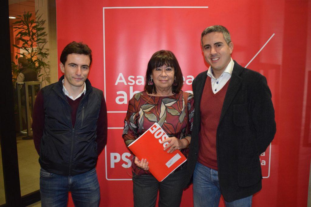 Narbona pide salarios dignos, combatir el fraude en la Seguridad Social e impuestos a la banca para garantizar pensiones