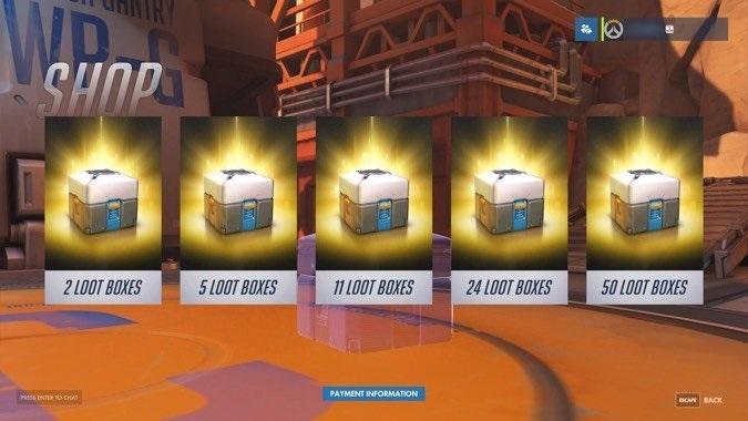 Reclaman al Senado de EEUU que aclare si las cajas de botín de los videojuegos son juegos de azar