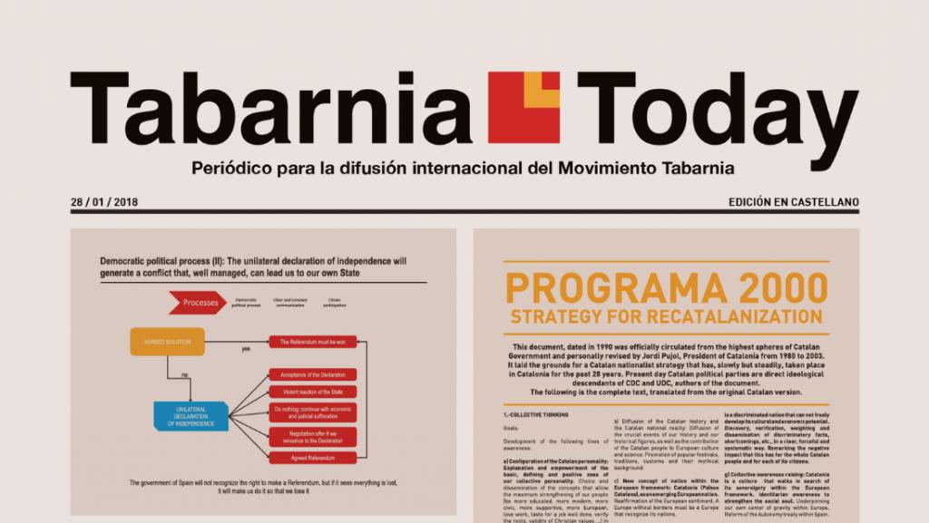 La 'República' de Tabarnia ya tiene su propio periódico para «difundir su causa»