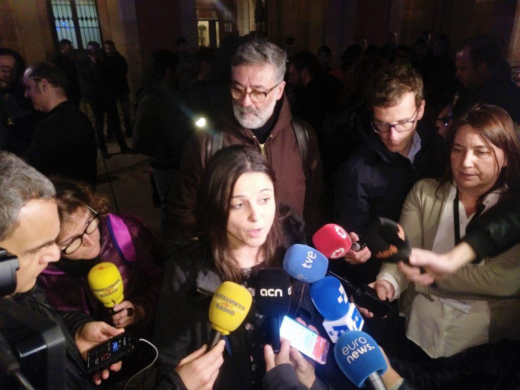 La CUP atribuye el aplazamiento del pleno de investidura a «luchas partidistas» JxCat-ERC