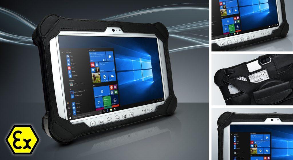 Panasonic presenta una versión a prueba de explosiones de su tableta Toughpad FZ-G1