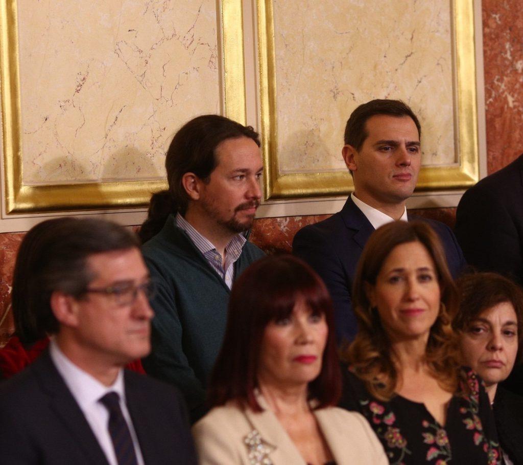 Rivera e Iglesias hablan por teléfono y acuerdan fijar una reunión la próxima semana para impulsar la reforma electoral