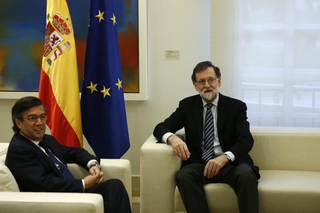 Rajoy y el presidente del Banco Interamericano de Desarrollo abordan la situación económica en América Latina y Caribe
