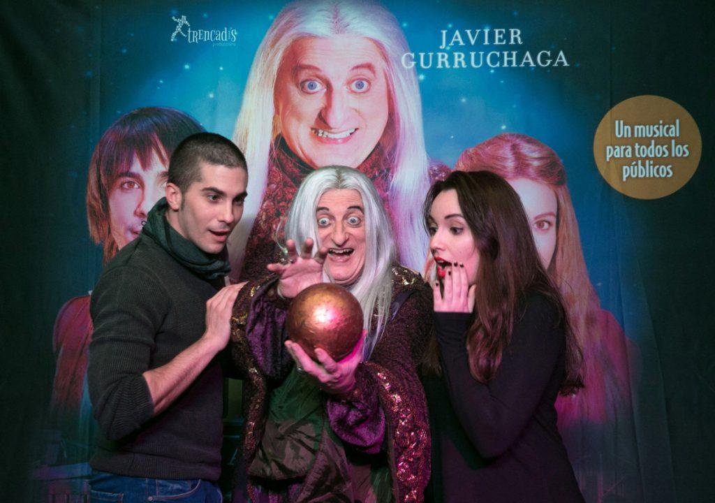 Javier Gurruchaga se sirve de la magia para dar vida al Merlín más reivindicativo