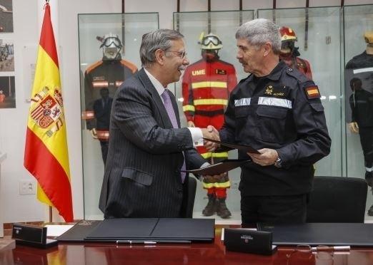 Red Eléctrica renueva su acuerdo de colaboración con la UME