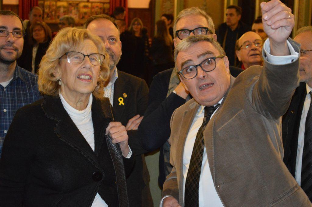Carmena asegura que la prisión de independentistas «está dificultando la solución política»