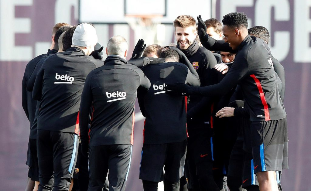 Ousmane Dembéle se reincorpora a los entrenamientos del Barcelona