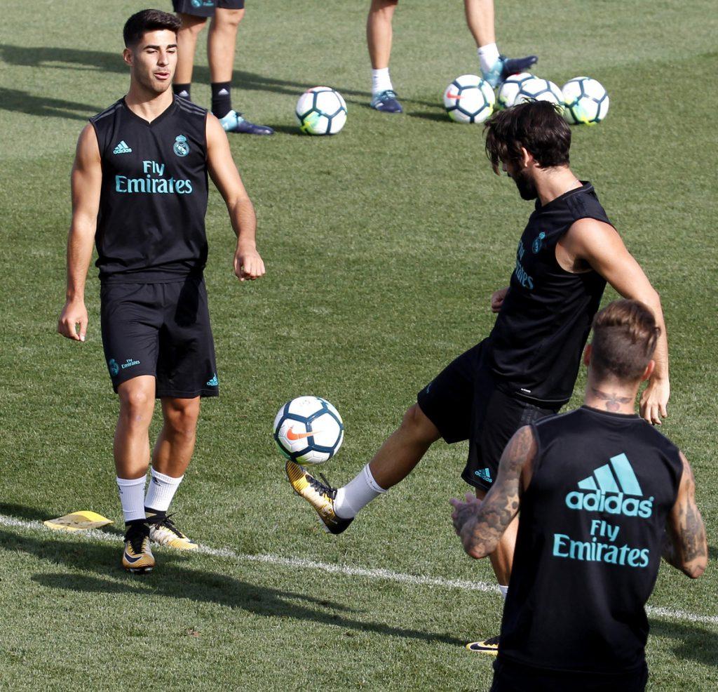 Ramos e Isco entran en la lista de 19 de Zidane
