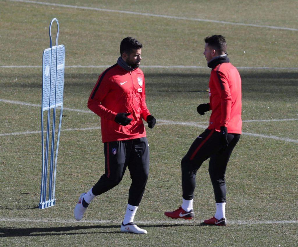 Simeone recupera a Costa, mantiene la baja de Filipe y descarta a Thomas
