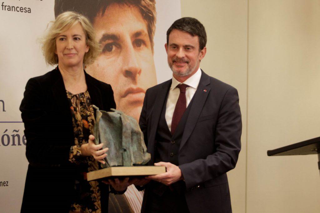 Valls cree que «el patriotismo y la nación española son las palabras necesarias para ser más fuertes en Europa»