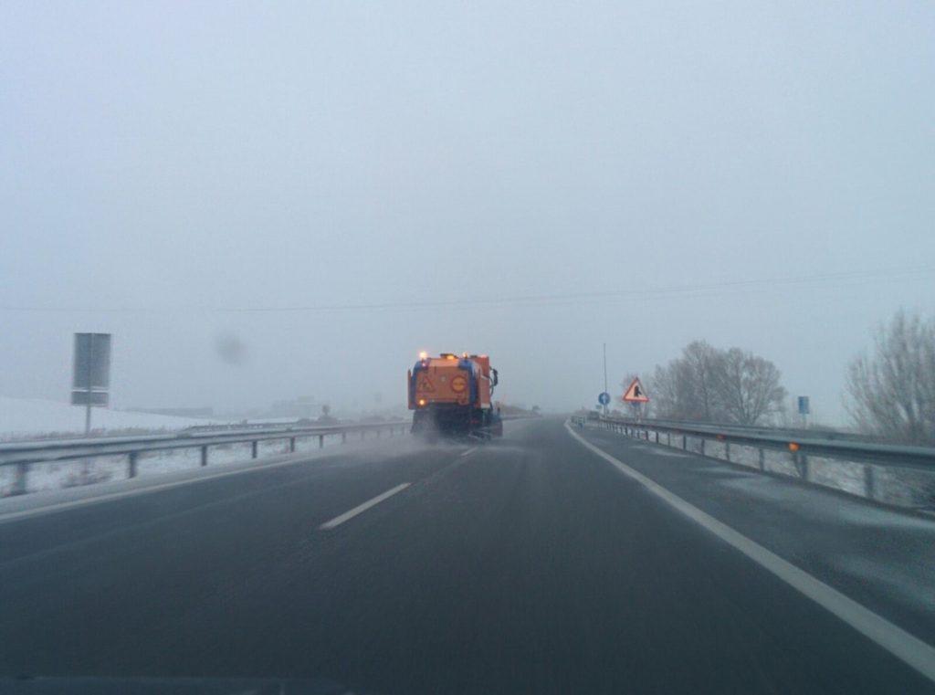 Madrid activa el nivel 1 del Plan de Emergencias Invernales y cierra el acceso al Puerto de Navacerrada