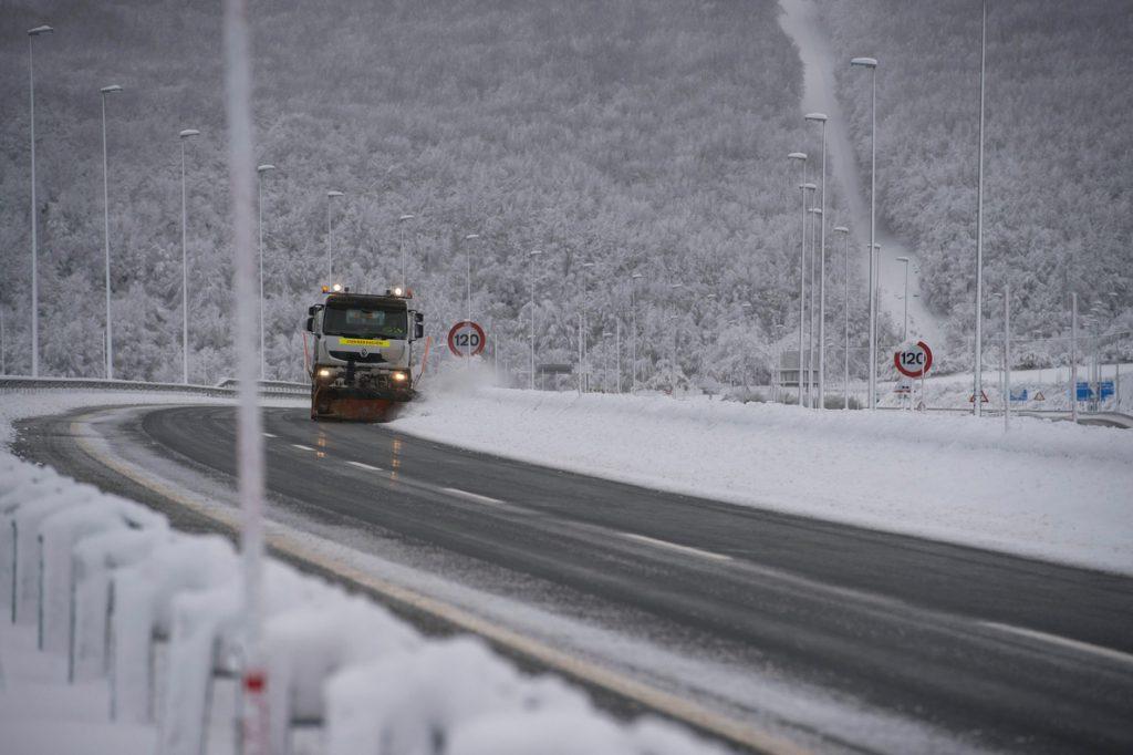 Descenso de temperaturas con nieve y heladas hasta el miércoles