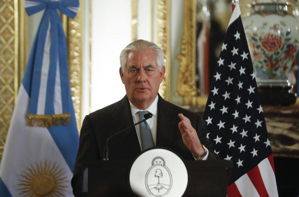 Estados Unidos y Argentina estrechan lazos en la lucha antiterrorista