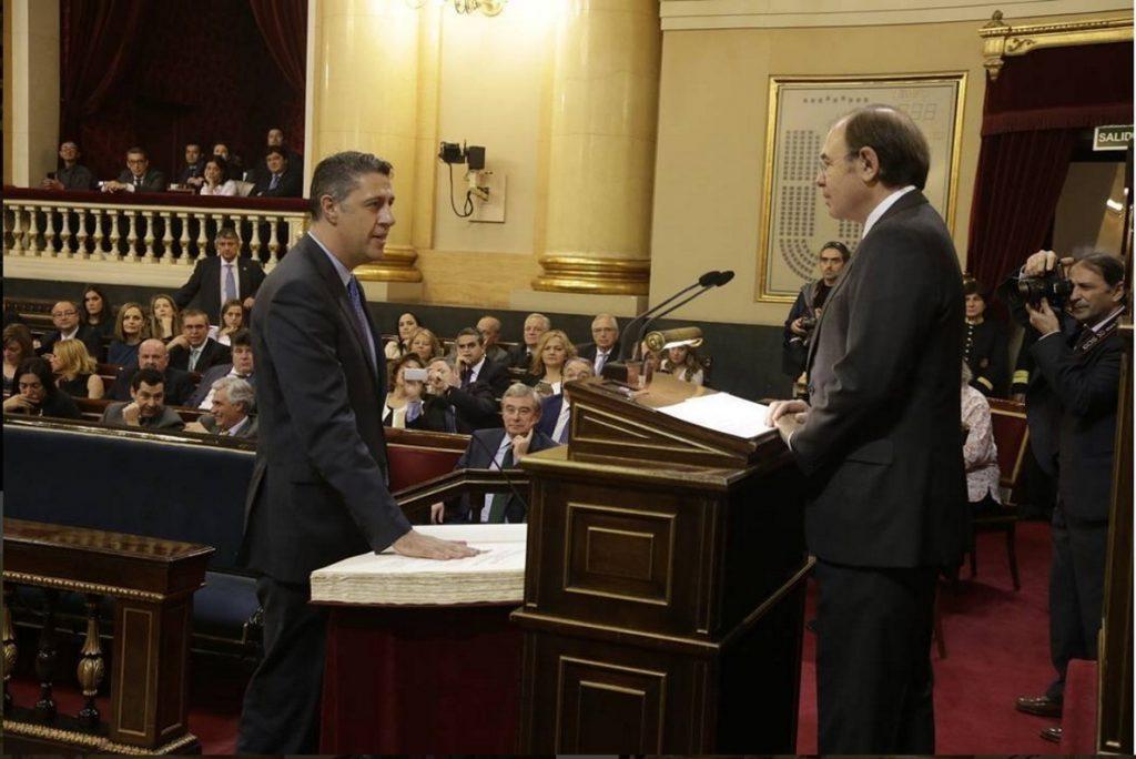 Albiol asegura que le da «pena» dejar el Senado y que ha sido «voz de la sociedad no independentista»