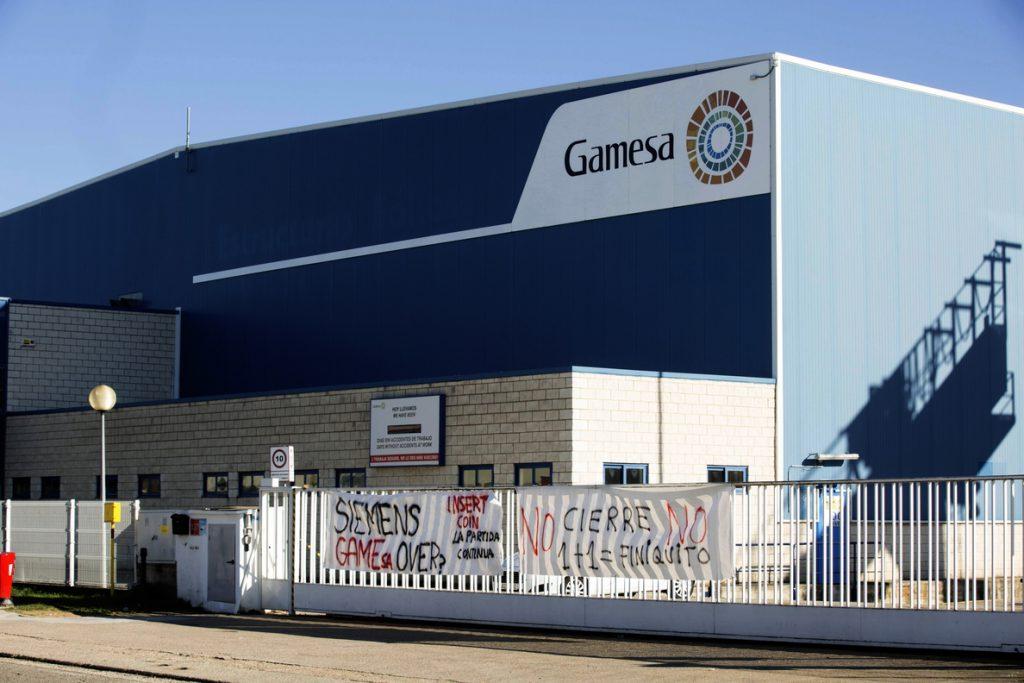 Piden a Siemens Gamesa una alternativa al cierre de la planta de Miranda