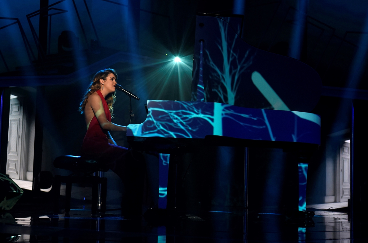 El talento conquistó al público: Amaia, la dulce y explosiva ganadora de «OT»