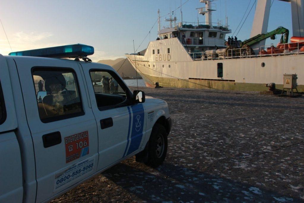 El presidente de la armadora del buque apresado se desplaza a Argentina