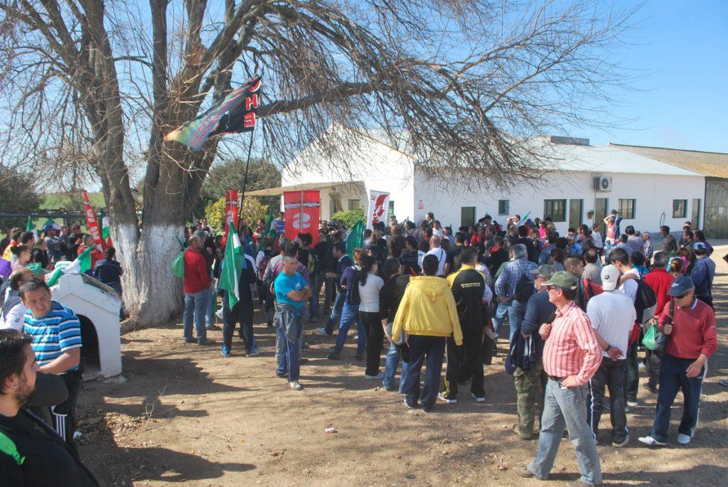 Absueltos los 48 jornaleros acusados por ocupaciones de la finca publica de Somonte (Córdoba)
