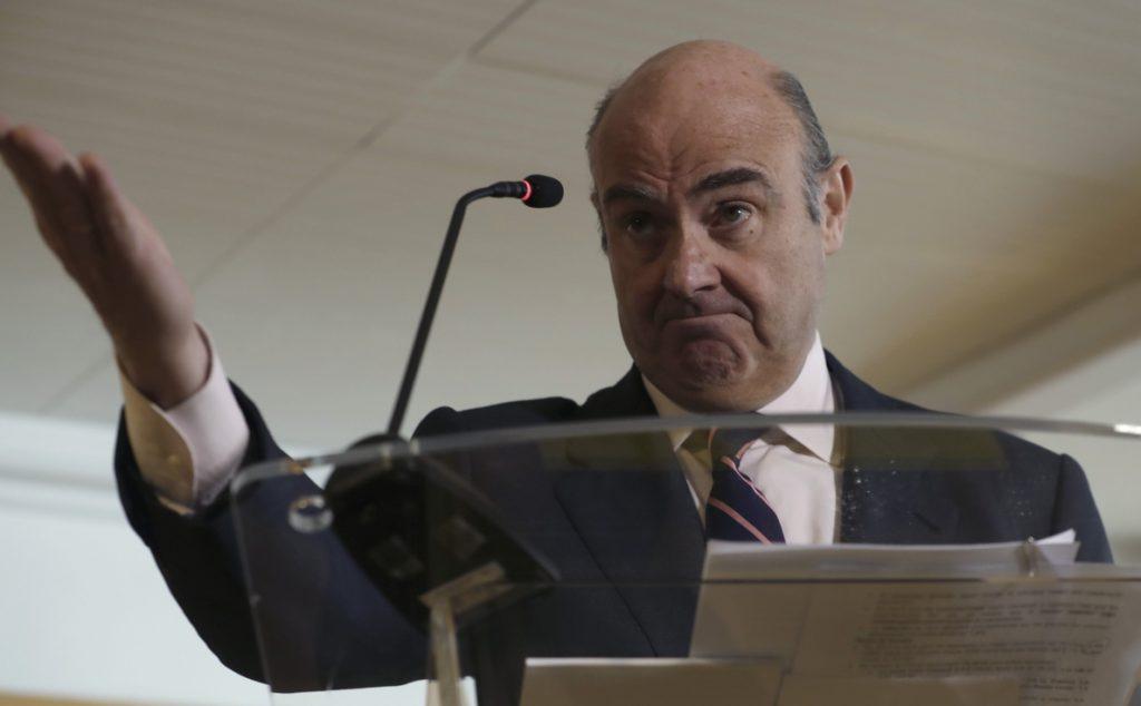 El Gobierno postula a De Guindos para recuperar la presencia española en el BCE
