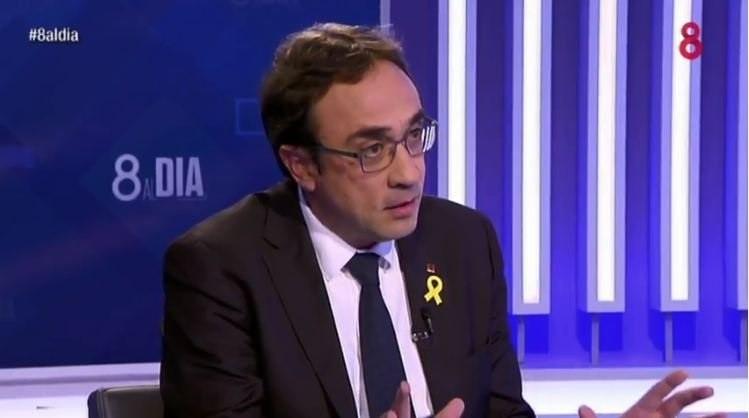 Rull asegura que apoyar la investidura de Puigdemont es «defender la democracia española»