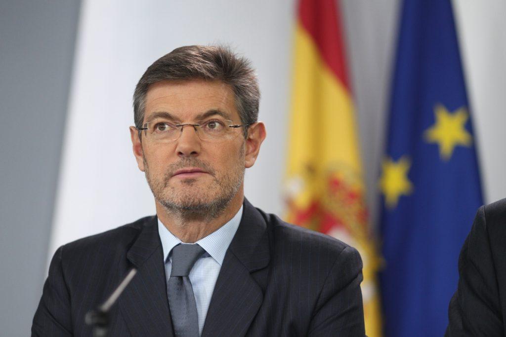 Catalá descarta aplicar prisión permanente revisable al delito de rebelión porque la pena ya es «alta»