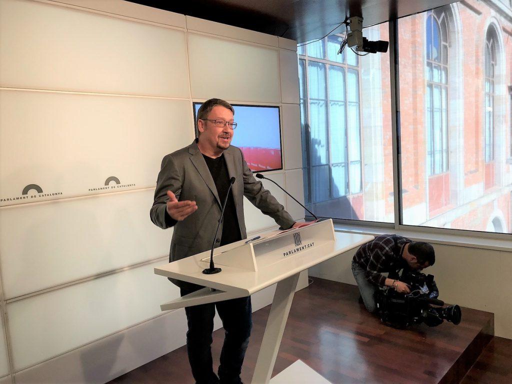 Domènech (CatECP) comparte parar el reloj de la investidura pero urge a no «eternizarse»