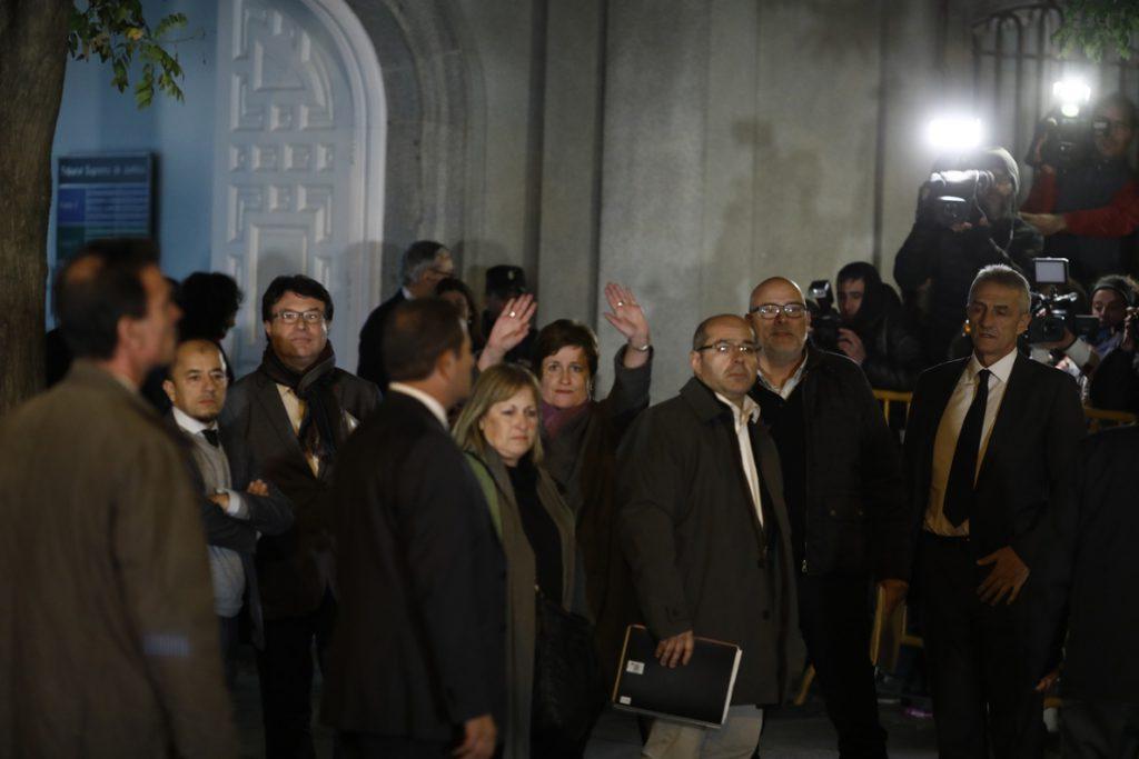 El diputado Guinó reconoció en el TS que la tramitación de la Ley del Referéndum fue «poco edificante»