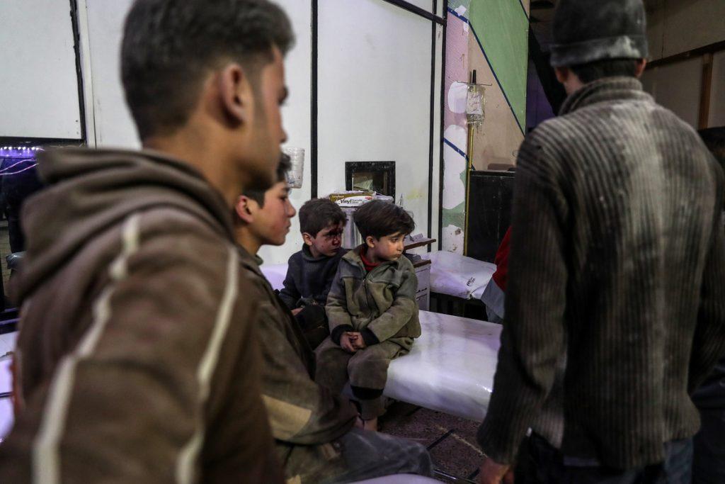 Al menos 29 muertos por ataques cerca de Damasco y en el norte de Siria