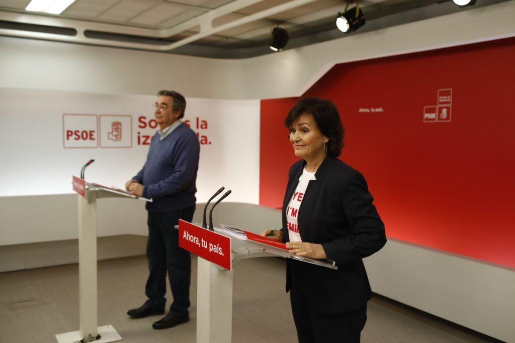El PSOE reprocha a Ciudadanos y Podemos que sólo hablen entre sí para el reparto de sillones