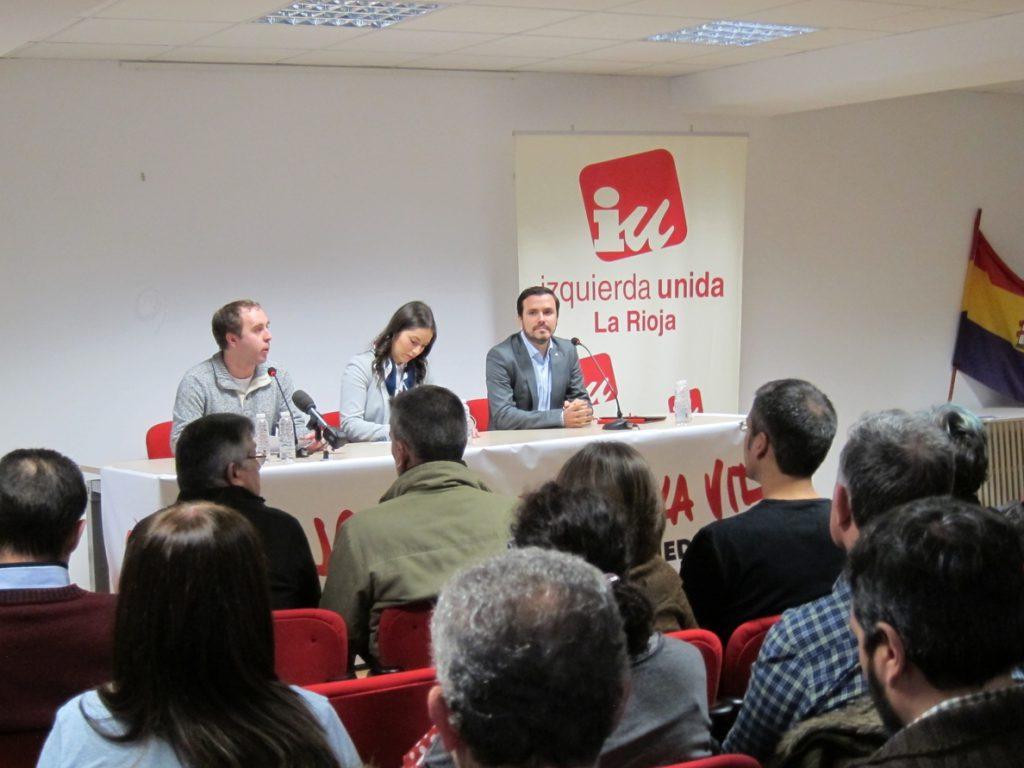 Garzón lamenta que Rajoy invite «a jugar a un timo y especular» cuando alienta a invertir en planes pensiones privados