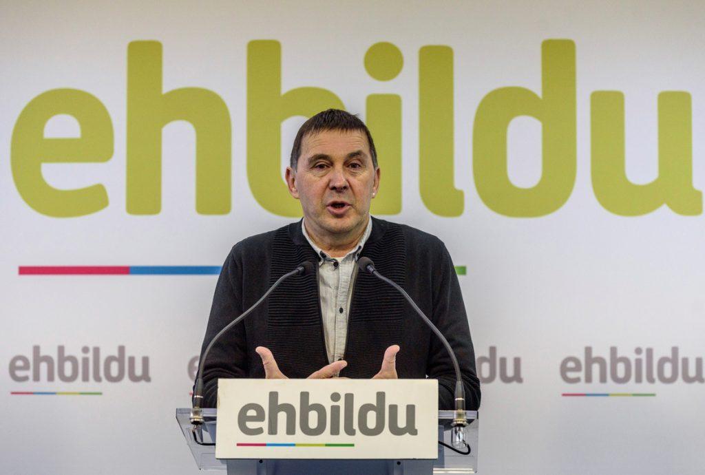 Otegi dice que si no hay acuerdo por derecho decidir no será culpa de Madrid