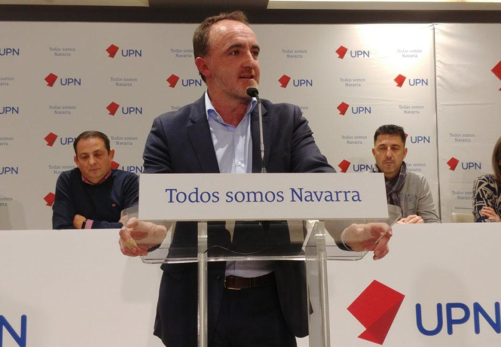 UPN exige que «cualquier modificación del Estatuto vasco elimine cualquier referencia a Navarra»