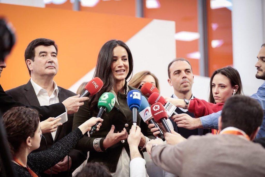 Villacís (Cs) pide a los independentistas en Cataluña que «despierten» y tengan «sensibilidad con los problemas reales»