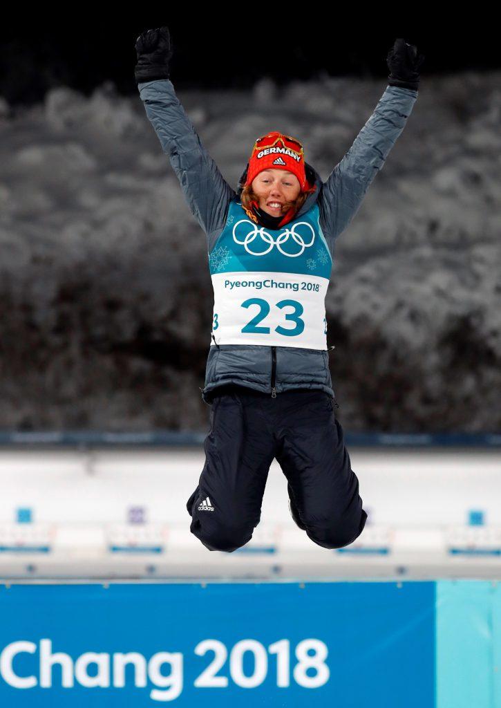 La alemana Laura Dahlmeier ya tiene su oro olímpico