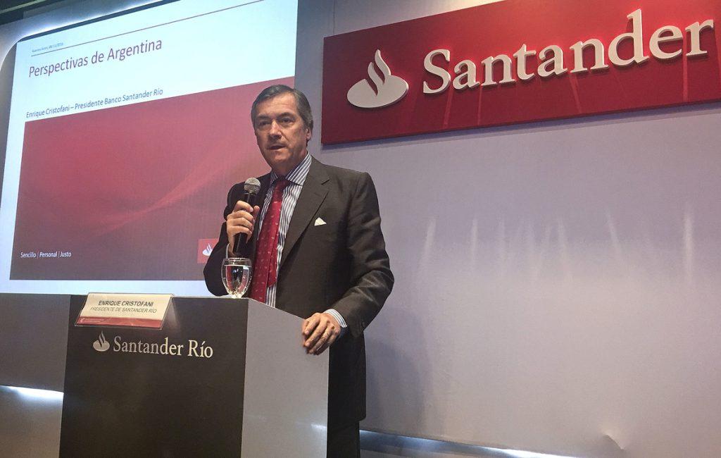 Banco Santander quiere crecer en Argentina y duplicar sus créditos en 3 años