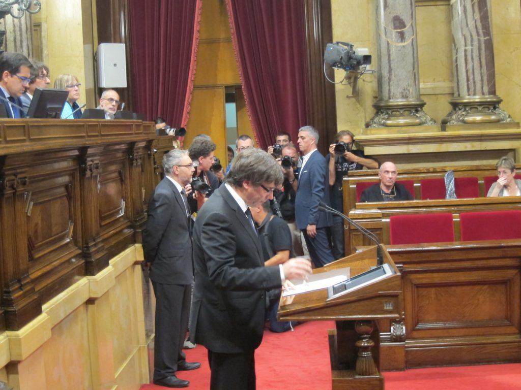 JxCat pide al TC que rechace el recurso de Rajoy contra la investidura de Puigdemont