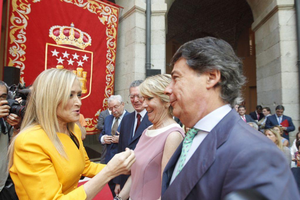El PSOE quiere que el Congreso ponga ya fecha a las comparecencias de  Cifuentes, Aguirre e Ignacio González