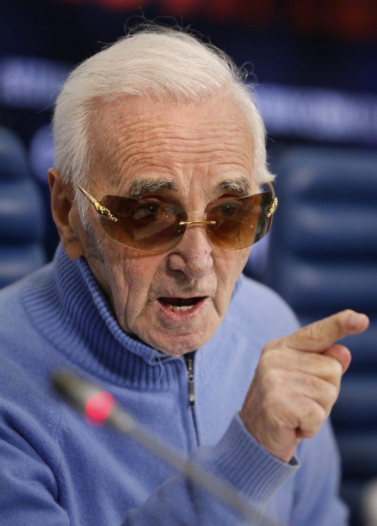 Charles Aznavour vuelve a Barcelona en un único concierto en el Liceu