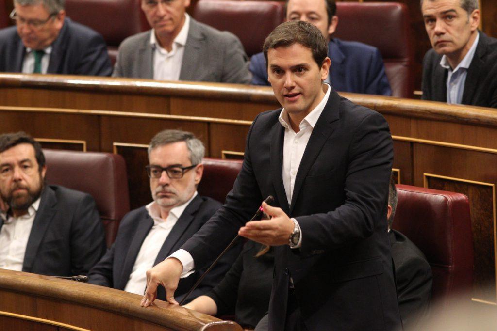 Ciudadanos preguntará mañana al Gobierno en el Congreso si legitima el «ataque» del PNV a la soberanía nacional