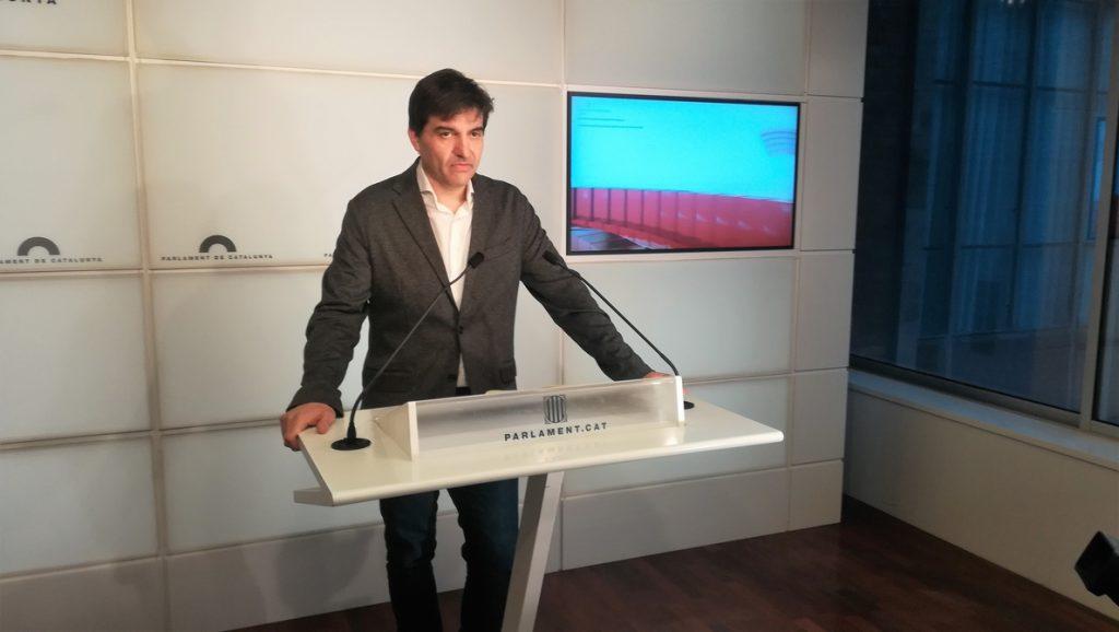 ERC afirma que ir a Estrasburgo es «idea de JxCat» y critica los reproches recibidos