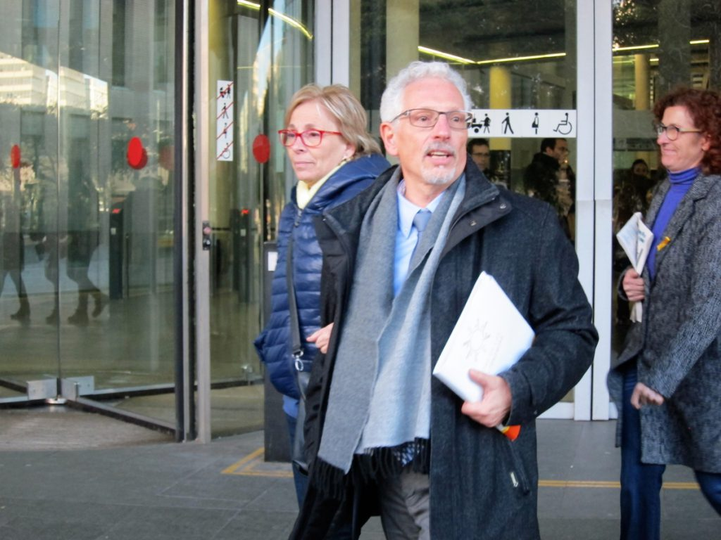 El exjuez Santi Vidal declara que sus afirmaciones del 1-O no eran ciertas y pide reingresar en la carrera judicial