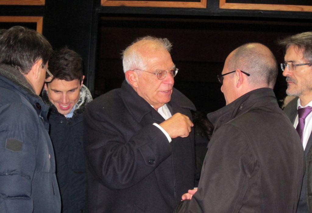 Borrell, sobre la candidatura de Guindos:»Ser ministro no le quita las calificaciones que sin duda tiene»