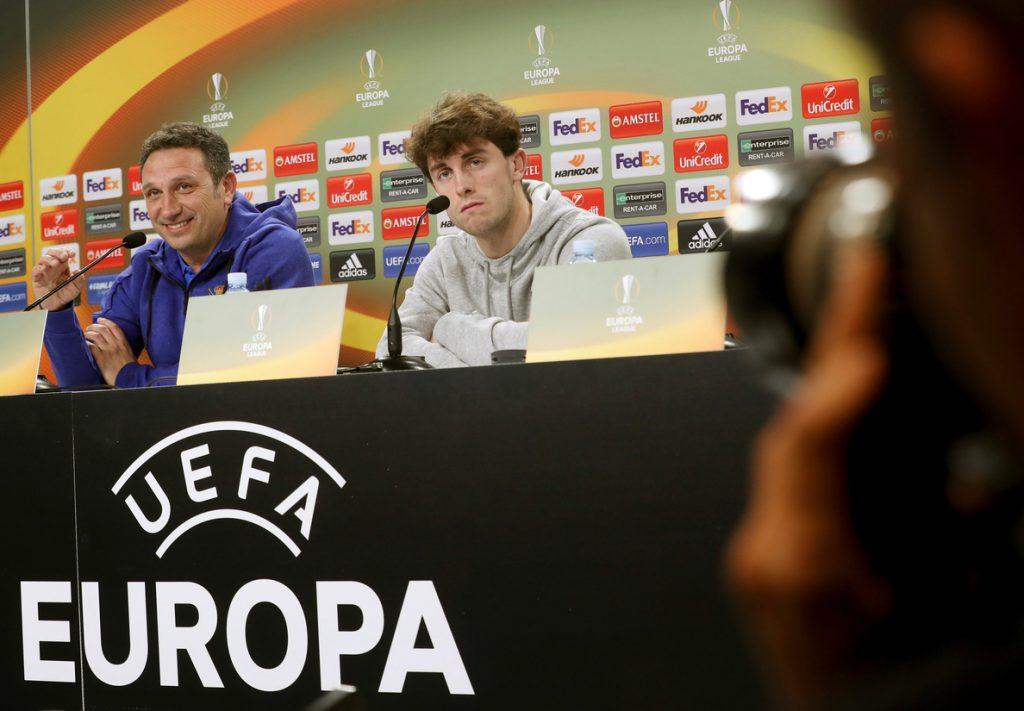 Eusebio espera una eliminatoria «igualada» ante el Salzburgo