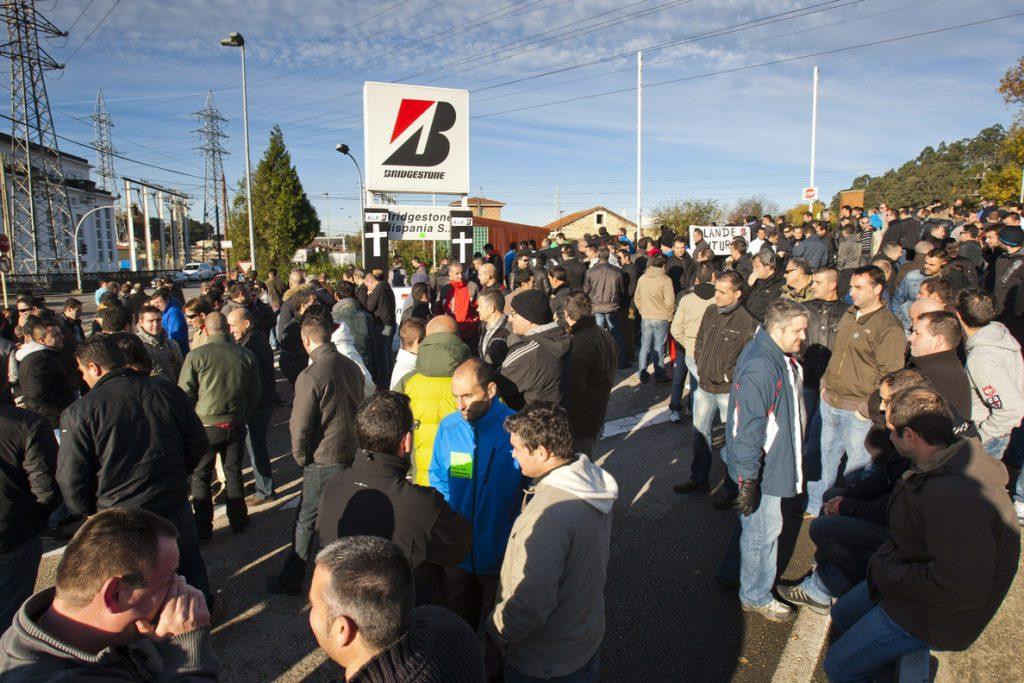 Bridgestone y el comité se citan el 23 de febrero para firmar el convenio