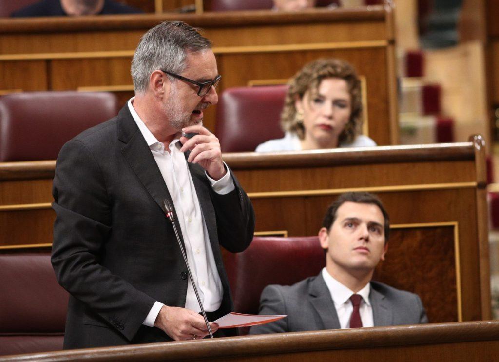 Ciudadanos pretende que el Gobierno aclare en el Congreso cuándo va a impulsar la reforma electoral que pactaron